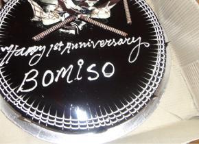 BOMISO's 1st Anniversary